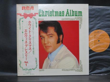 Elvis Presley Elvis' Christmas Album Japan Rare LP OBI G/F