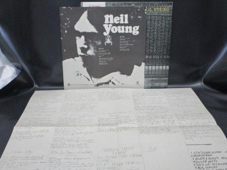 Neil Young After the Gold Rush Japan LP OBI COMPLETE