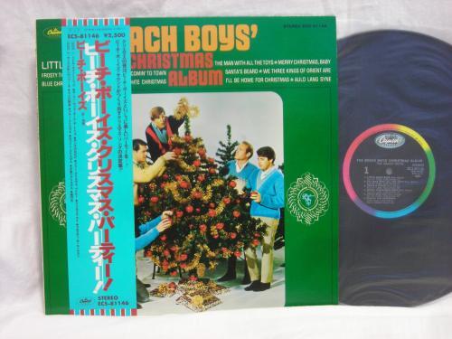 Beach Boys Christmas.Backwood Records Beach Boys Christmas Album Japan Rare Lp