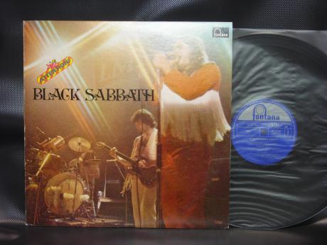 Backwood records black sabbath attention japan only lp live cover