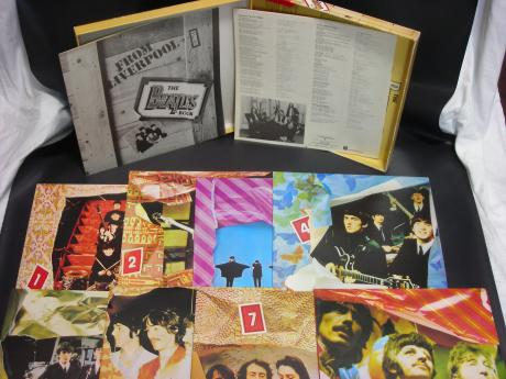 Beatles BOX Japan 8LP BOX SET OBI 2 BOOKLETS