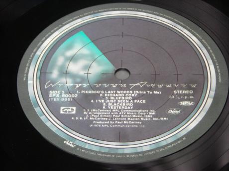 Backwood Records : Paul McCartney Wings Over America Japan