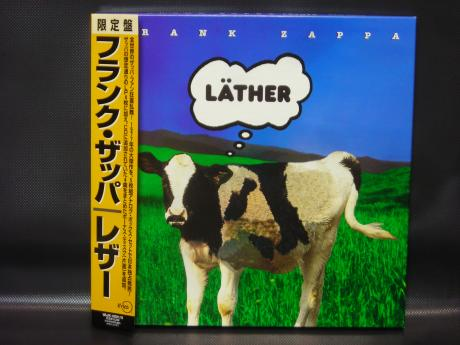 Backwood Records Frank Zappa Lather Japan Limited Ed 5lp