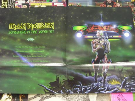 Iron Maiden Stranger In A Strange Land Poster