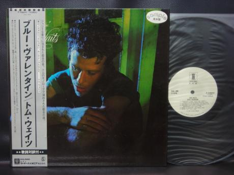 Tom Waits Blue Valentine Japan Orig. PROMO LP OBI WHITE LABEL