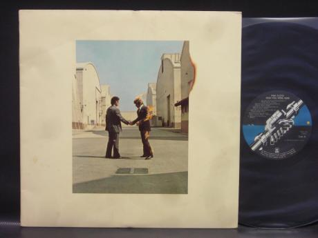 Pink Floyd Wish You Were Here Japan Orig. LP POSTER