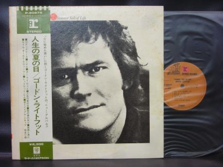 Gordon Lightfoot Summer Side of Life Japan Orig. LP OBI