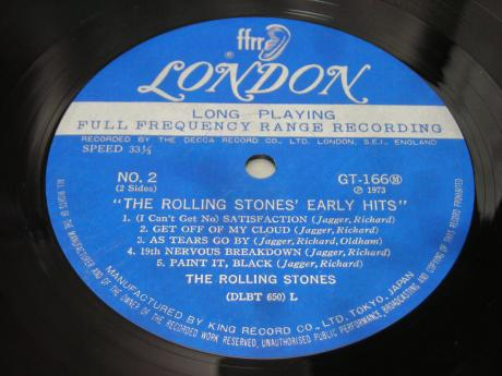 Backwood Records : Rolling Stones Oldies But Goodies Early