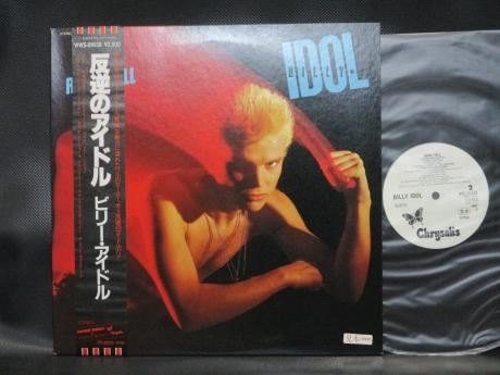 Generation X Billy Idol Rebel Yell Japan PROMO LP OBI WHITE LABEL
