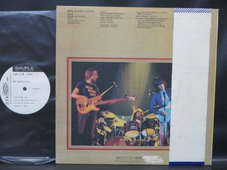 Jeff Beck Bogert & Appice S/T Japan Orig. PROMO LP OBI WHITE LABEL