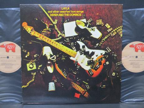 Eric Clapton Derek and Dominos Layla Japan Rare 2LP OBI