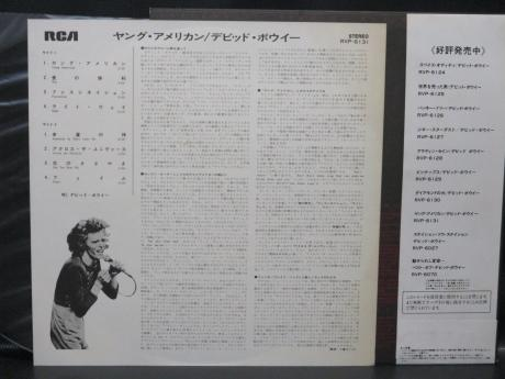 David Bowie Young American Japan Early Press LP OBI NM