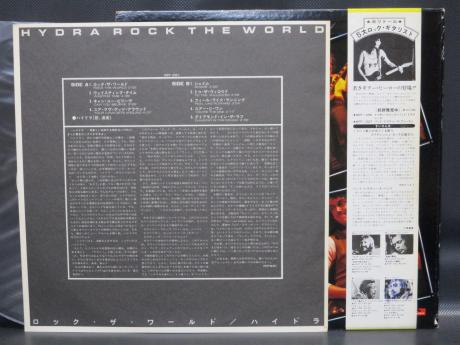 Hydra Rock the World Japan PROMO LP OBI WHITE LABEL
