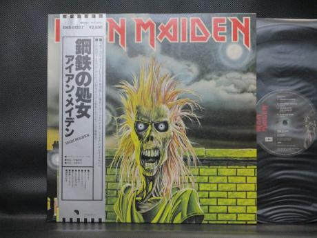 Iron Maiden 1st S/T Same Title Japan Orig. LP OBI