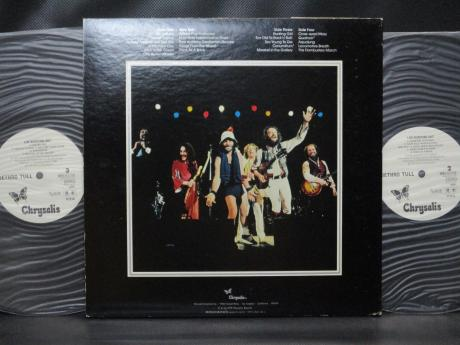 Jethro Tull Live Japan Orig. PROMO 2LP OBI WHITE LABEL