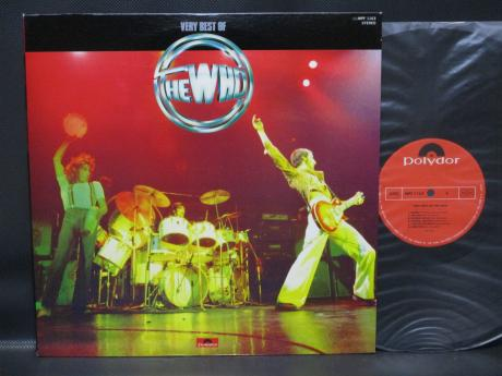 WHO Very Best Of Japan ONLY LP COOL COVER INSERT