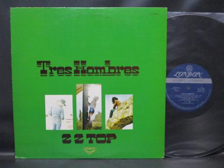 ZZ TOP Tres Hombres Japan Orig. LP DIF COVER
