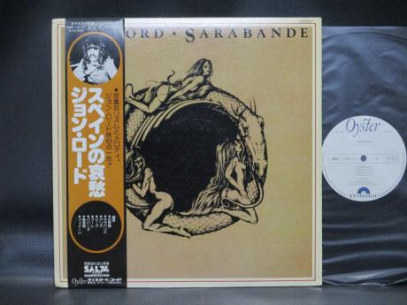 Deep Purple Jon Lord Sarabande Japan Orig. PROMO LP OBI WHITE LABEL