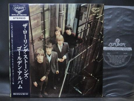 Rolling Stones Golden Album Japan ONLY LP OBI