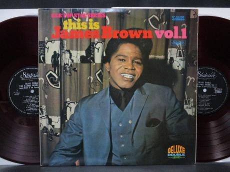 James Brown This is Vol. 1 Japan ONLY 2LP RED WAX