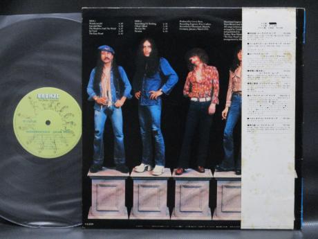 Backwood Records Uriah Heep Wonderworld Japan Orig Lp Obi Used Japanese Press Vinyl Records For Sale