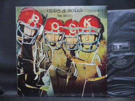 WHO Odds & Sods Japan Orig. LP RARE POSTER