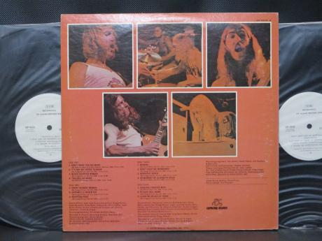 Allman Brothers Band Beginnings Japan PROMO 2LP WHITE LABEL