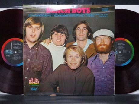 Beach Boys Deluxe Double Japan ONLY 2LP RED WAX