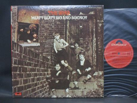 Who Meaty Beaty Big and Bouncy Japan Orig. LP G/F INSERT
