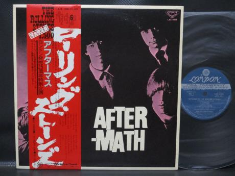 Backwood Records : Rolling Stones Aftermath Japan LTD LP RED