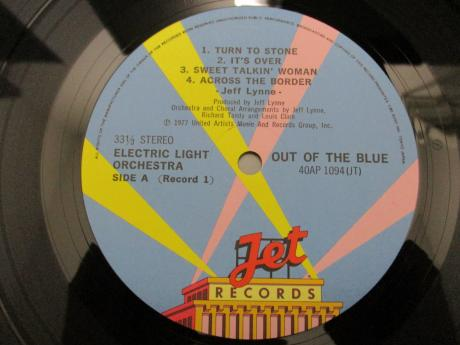 ELO Electric Light Orchestra Out of Blue Japan Rare 2LP BLUE OBI