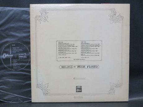 Pink Floyd Relics Japan Early Press LP OBI G/F BOOKLET ODEON