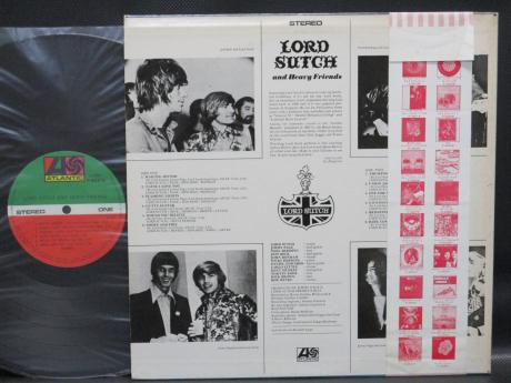 Lord Sutch and Heavy Friends S/T Japan LTD LP RED OBI