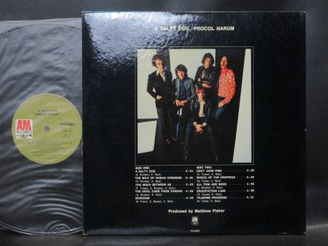 Procol Harum A Salty Dog Japan Orig. LP G/F DIF COVER