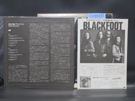 Backwood Records : Blackfoot Strikes Japan PROMO LP OBI PRO