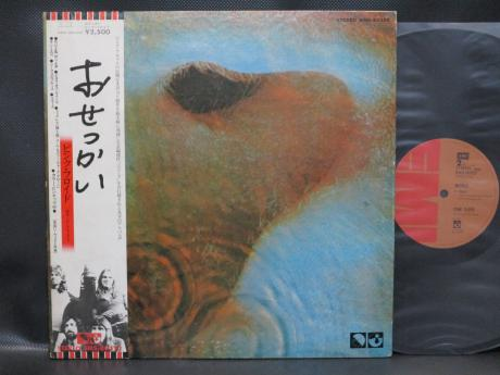 Backwood Records : Pink Floyd Meddle Japan EMI ED LP OBI BOOKLET