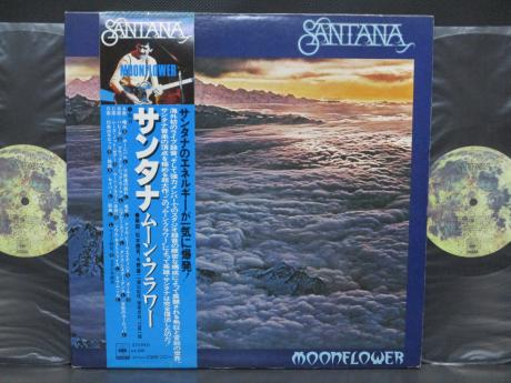 Santana Moonflower Japan Orig. 2LP OBI COMPLETE NM/NM
