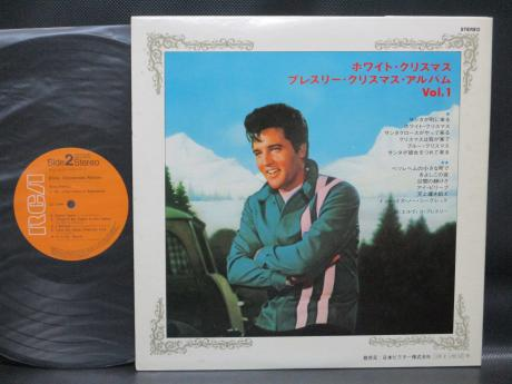 Elvis Christmas Album.Backwood Records Elvis Presley Elvis Christmas Album