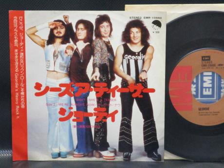 "AC/DC Geordie She's a Teaser Japan Orig. 7"" Rare PS"