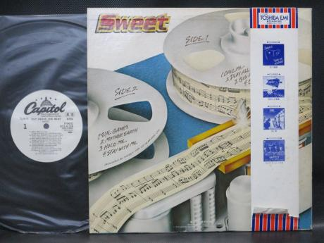 Sweet Cut Above the Rest Japan Orig. PROMO LP OBI WHITE LABEL