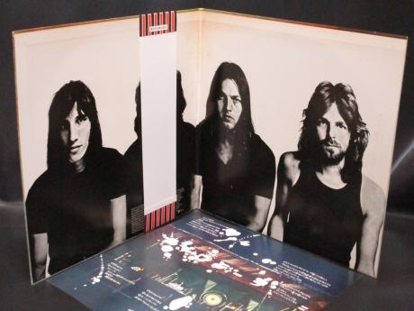 Pink Floyd Meddle Japan EMI LP OBI BOOKLET