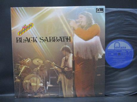 Black Sabbath Attention ! Japan LTD LP Rare LIVE COVER