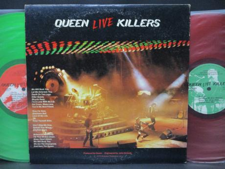 Queen Live Killers Japan Orig. 2LP GREEN & RED DISCS