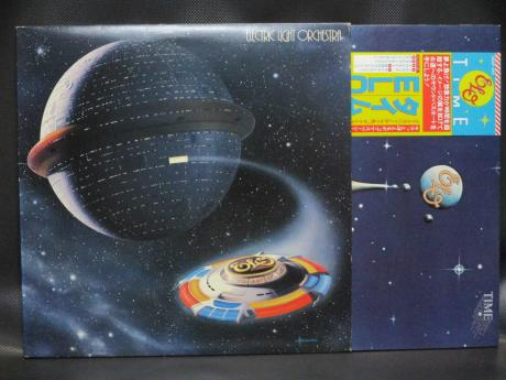 ELO Electric Light Orchestra Time Japan Orig. LP OBI RARE OUTER COVER