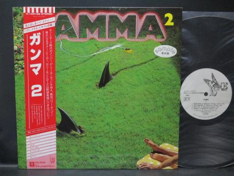Ronnie Montrose Gamma 2 Japan PROMO LP OBI WHITE LABEL