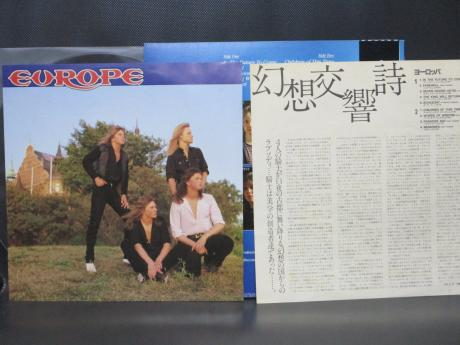 Europe 1st S/T Same Title Japan Orig. LP OBI
