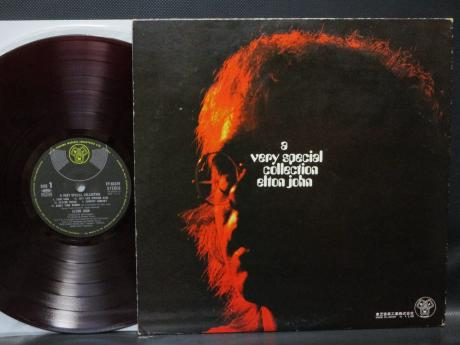 Elton John A Very Special Collection Japan ONLY LP RED WAX