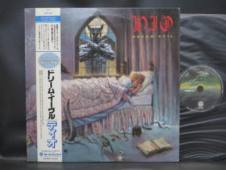 DIO Dream Evil Japan Orig. LP OBI INSERT