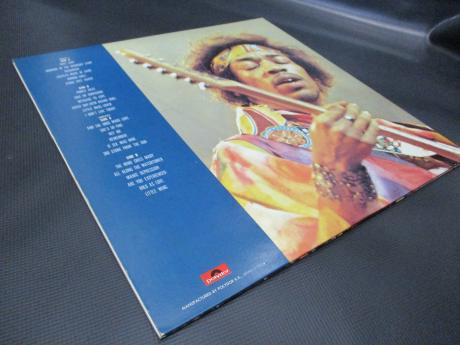 Jimi Hendrix Best Of Japan Only LTD 2LP INSERT