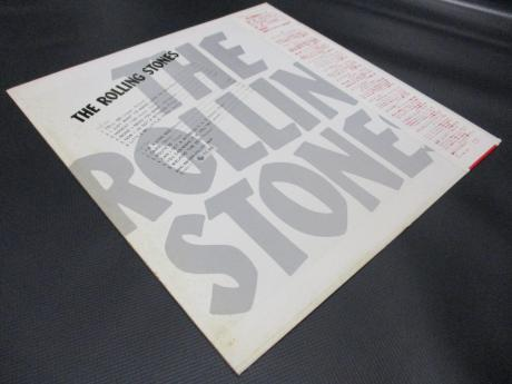 Rolling Stones 1st Same Title Japan Early LP RED OBI DIF